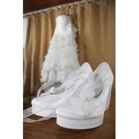 Vendo Hermoso Vestido Divina Señorita +zapatos La Ragazza