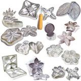 Frisadores Para Flores Artificiais Kit Frisadores Aluminio