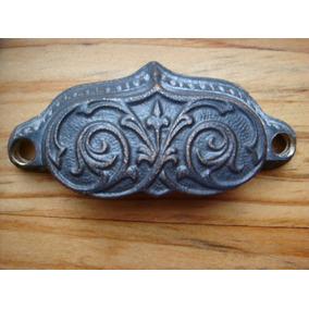 Tirador Tipo Antiguo De Bronce Para Cajón De Mueble