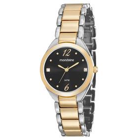 afe5a389de3 Relogio Feminino Dourado Bahia Salvador Pulso - Relógio Mondaine no ...