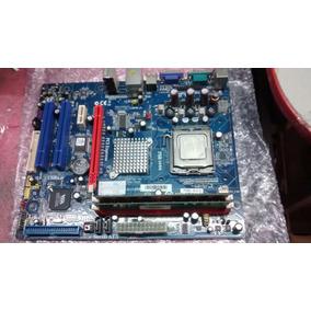 Kit Placa Mae 775 Via P7v900-m(v1.0) Ddr-2 2g Core2duo 6300