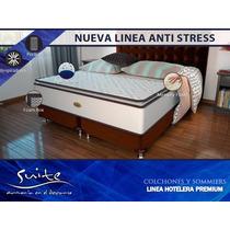 Somier Anti-stress Medium King - Colchon Premium Hoteleria