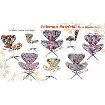 Poltrona Decorativa Giratória Base Cadeira Promoção
