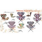 *poltrona Decorativa Giratória Base Cadeira Promoção*