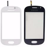 Tela Vidro Touch Samsung Galaxy Fame Duos Gt-s6810 Gt-s6812