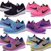 Zapatillas Nike Free Rn Flyknit Dama C/caja Entrega Ya!