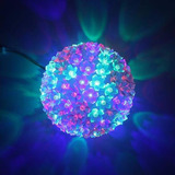 Esferas De Flores 100 Luces 8 Funciones -decoracion Fiestas