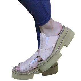 Sandalias De Mujer Gomon Sueco Estilo Zapatillas Panchas