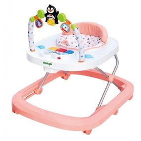 Andador Didáctico Para Bebes Avanti Pinguino Rosa