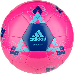 Balón adidas Starlancer Futbol Soccer Rosa Ac5544 Original