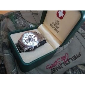 Reloj Militar Cronografo Hanowa Made In Swiss