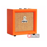 Mini Amplificador De Guitarra 3w Orange Crush Micro Cr3