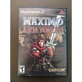 Maximo Army Of Zin Ps2 Primera Edición