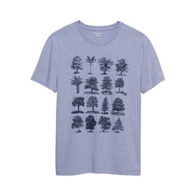 Remera Banana Republic | Graphic Tee | Multi Trees | Usa