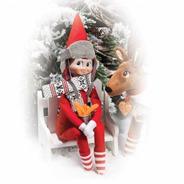 Elf On The Shelf Polar Pattern Set