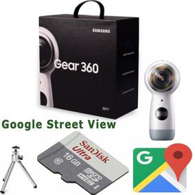 Samsung Gear 360 Sm-r210 2017 Câmera 4k Google Street View