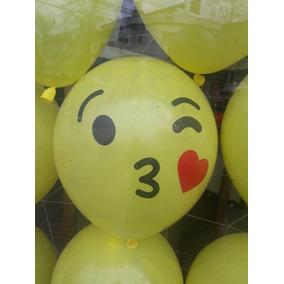 Globo Emoji 12 Pulgadas - Local En Villa Urquiza