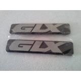 Vw Golf Jetta A3 Par Rótulo Lateral Glx