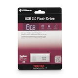 Toshiba Transmemory Usb 2.0 Flash Drive, 8 Gb (pfu008u-1acw