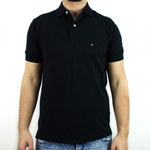 Camisa Polo Masculina Tommy Hilfiger Core New Knit Original
