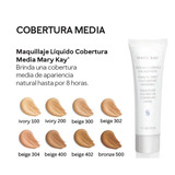 Cobertura Media Maquillaje Todos Los Tonos Mary Kay