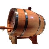 Barril / Carvalho Europeu 2,5l Caçhaca,vinho,wisque,cerveja