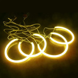 Angel Eyes Ccfl Bmw Amarelo Ambar - E36 E38 E39 E46 3 5 7