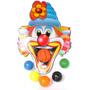 Palhaço Bocão Jogo Com Bolas Plásticas