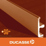 Tapacanto Aluminio Con Espiga Ducasse 3 Mts Mueble Puerta