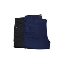 Pantalon De Gabardina Recto Tiro Alto Elastizado De 40 Al 60