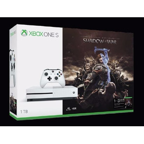 Consola Xbox One S 1tb Middle Earth Shadow Of War Nueva