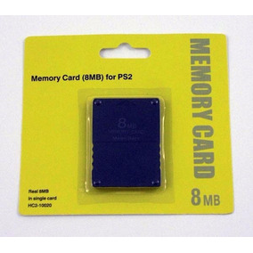 Memory Card Ps2 - 8mb Nuevas En Blister