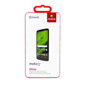 Cristal Templado Muvit Para Motorola G6 Plus