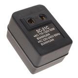 Elevador Voltaje 110-120 A 220-240 Hasta 50 Watts Adaptador