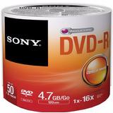 Dvd-r Sony Torre Con 50 Piezas