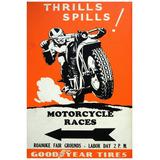 Afiches Posters Autos Carros Automoviles Vintage 48x33 Cm