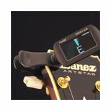 Afinador De Pinza Cromatico Ibanez Pu2 Pu-2 Guitarra Bajo