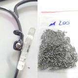 Parafusos Para Plaquetas De Óculos Pacote Media 200 Unidades