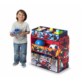 Juguetero Infantil Organizador De Lujo Marvel Spiderman