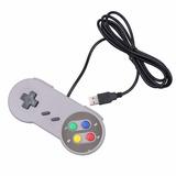 2 Super Controle Joystick Usb Snes Nintendo Preço Imperdível