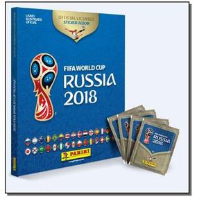 Album Copa Da Russia 2018 - C.d. + 60 Figurinhas