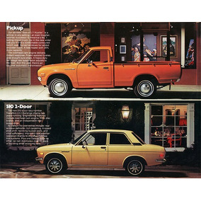 Manual De Taller Nissan Datsun Pickup 510 Series
