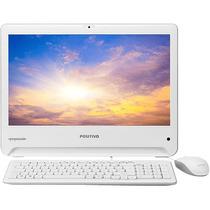 Computador All In One Positivo Union I3 4gb Hd 500 - Branco