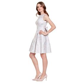 Vestido Corto Con Moño Eva Brazzi