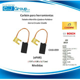 Carbon O Escobilla (xpar) Esmeril /pulidora / Taladro Bosch