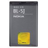 Bateria Bl5j P/ Celular Nokia Asha 200 201 302 C3-00 X6-00