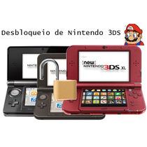 Nintendo 3ds Desbloqueio Destrava Arm9loader Qualquer Versão