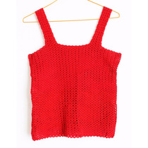 Crochetchile Polera Mujer 100% Algodón,talla S