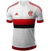 Playera Jersey Visitante Flamengo 15/16 Hombre Adidas S12938