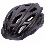 Capacete Asw Bike Active Cinza Luz Pisca Led Ciclismo Tam M